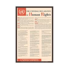 "poster of the universal declaration of human rights cmhr boutique poster entitled ""the universal declaration of human rights"" the 30 articles of the"