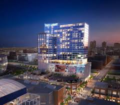 kansas city s two light tower will feature glass balconies terrace railing and parking garage grilles from sterling dula