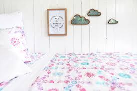 shabby chic organic kids bedding