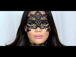 masquerade lace makeup