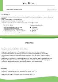 Latest Format For Resume Fresher Resume Formats Latest Resume Format Amazing Mechanical Fresher Resume Format