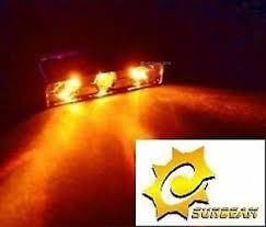 Sunbeam Amber Lazer Laser Beam Triple LED PC Computer Case ...