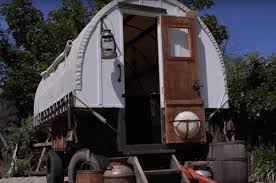 Small Picture This Couple Builds Gorgeous Tiny Houses Out of Sheep Wagons