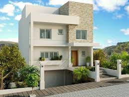 3 andares e 4 aptos por andar Fachadas De Casas De Sobrados Veja 50 Modelos Lindos Decor Salteado