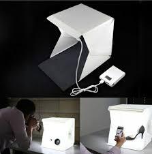 Photo Studio Box Light Cube Tent Mini Foldable Camera Photo Studio Photography Led Light Cube