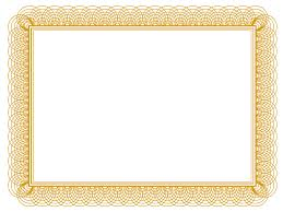 gold ribbon border gold certificate borders ender realtypark co