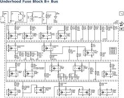 repair guides wiring systems 2006 power distribution underhood fuse block b bus 2006