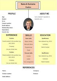 This 3 Column One-pager Resume is perfect to make an impression. It comes