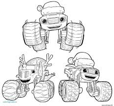 Blaze And The Monster Machines Coloring Pages Pdf Mountainstyleco