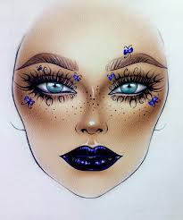 Mac Cosmetics Looks Face Charts Pin By Curvyhipsandtintedlips On Makeup Mac Face Charts In