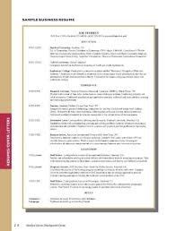 Mba Resumes Samples Resume Sample Format Harvard Business School