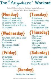 Exercise Daily Routine Chart April 2013 Raisingthebarbydps Blog