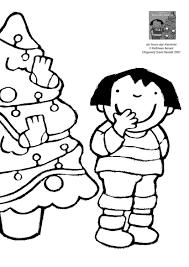 Kleurplaat Anna En De Kerstboom Kerstmis Kerst Kerstmis