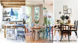 23 spectacularly inspiring mismatched dining chairs positions
