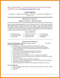 10 Pharmacy Resume Sample Address Example
