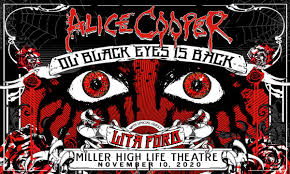 NEW DATE: <b>Alice Cooper</b>: Ol' Black Eyes Is Back with <b>special</b> guest ...
