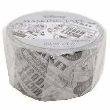 ミッキーマウス マスキングテープ 23mmマステ ポスター ディズニー キャラクターグッズ通販 メール便可au