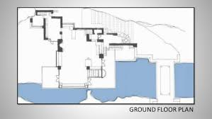 Gallery For Fallingwater Floor Plan With Dimensions Fall Water Falling Water Floor Plans