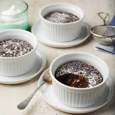 Chocolate Lava Cakes With Dulce De Leche Chatelaine