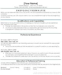 Sample Registered Nurse Resume New Registered Nurse Resume Sample