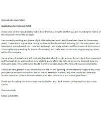 Best Solutions Of Internal Job Cover Letter Example Icover On Letter