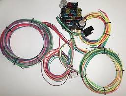new 21 circuit ez wiring harness mini fuse chevy ford hotrods 21 circuit ez wiring harness chevy mopar ford hotrods universal x long wires