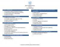 Part 1 Administrative Table Of Contents Chapter 1