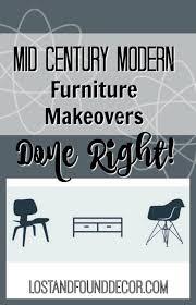 diy modern vintage furniture makeover. mid century modern furniture makeovers done right diy vintage makeover n