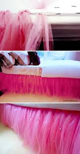 diy no sew tutu bedskirt