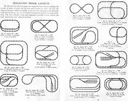 american flyer track layouts traindr american flyer suggested track layouts