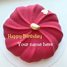 Beautiful Birthday Cake With Name On It For Mom