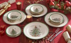 Groupon Goods Global GmbH: Spode Christmas Tree Dinnerware from 9.97 (Up  to 91 ...