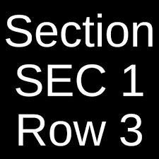 2 Or 4 Ariana Grande Nashville Bridgestone Arena Sec 330 Row