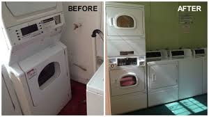multi housing laundry room redesign in miami fl washco laundry equipment recently partnered with art center apartments in miami fl