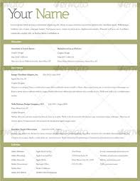 Nice Resume Formats 20 Awesome Resume Cv Templates Mow Design Graphic Design Blog Simple