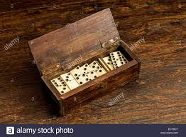 Vintage Wooden Board Games Vintage Dominoes in an old wooden box Stock Photo 100 Alamy 16
