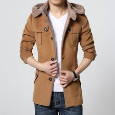 fall fashion brand clothing wool coat men middle long jackets and coats mens outdoor warm woolen overcoat casual skim peacoat jacket warm coat winter coat