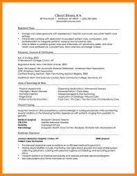 7 Chronological Resume Format Letter Adress