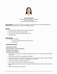 Resume Sample Format For Job Application Awesome Resume Applicant
