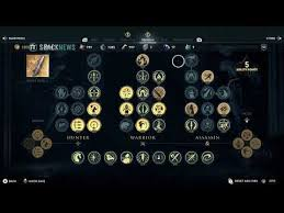 What Are Skills And Abilities Assassins Creed Odyssey All Skills Abilities Youtube