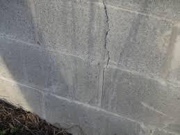 how to fix foundation cracks. Fine How Outsidecrack1jpg Vertical Foundation Crack  How To Fix It On How To Fix Foundation Cracks C