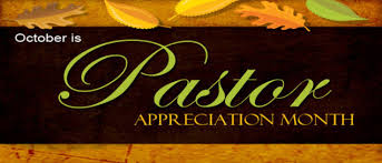 Image result for Pastor Appreciation Month (October).