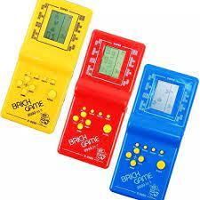 Máy Chơi Game Cầm Tay Cổ Điển Tetris Gạch Trò Chơi Trẻ Em Trò Chơi Máy Với  Trò Chơi Âm Nhạc Phát Lại Mà Không Cần Pin