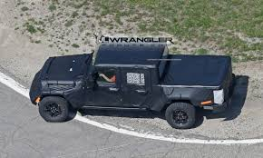 jeep pickup jt spied with ion intent bed