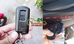 Honda vừa ra giải pháp báo giá làm chìa khóa smartkey Vision lại MẤT ID