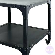 industrial style coffee table side tables industrial style side table french vintage industrial style coffee table