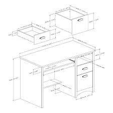 Typical Desk Dimensions Standard Height Amusing Size Desks
