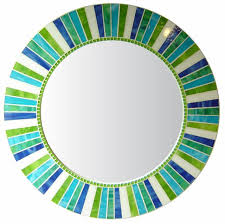 stained round mosaic mirror c23 materials stained glass crystal glass mosaic tile colors