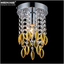 fancy mini crystal light 2 layers crystal res lamp 6 inch ceiling light stair crystal lighting aisle porch corridor light md3038b