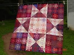 I'm looking for the red star quilt where the blocks form a large ... & Name: Big Star Little Star or marooned on a star.jpe Views: 3036 Adamdwight.com